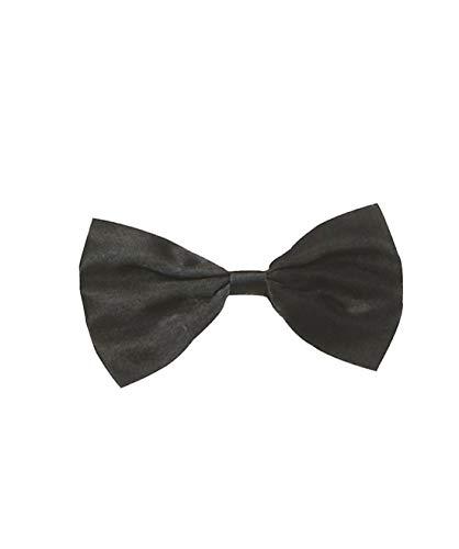 Islander Fashions Black Geek Austin Sonnenbrille Hosentr�ger Bow Tie Nerd Kit Kost�mzubeh�r (Schwarze Fliege) One Size