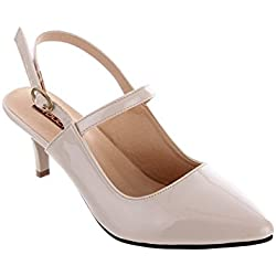 SHUZ TOUCH BEIGE Pumps & Peeptoes (SIZE-38)