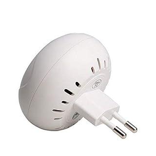 BerryKing Alarm Detector bis zu 80dB mit TV Fernseher Licht Simulation in 7 Alarm für die Steckdose Einbruchschutz Home-Security Fernseh-Atrappe - Perfekt für Alarmanlagen & Bewegungssensoren