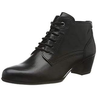 Tamaris Damen 1-1-25115-23 Stiefeletten, Schwarz (Black Leather 3), 37 EU