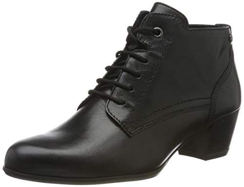 Tamaris Damen 1-1-25115-23 Stiefeletten, Schwarz (Black Leather 3), 37 EU