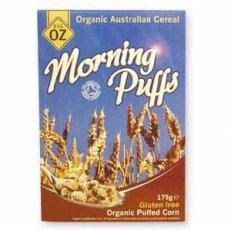 Big Oz - Organic & Gluten Free Popcorn Puffs - 175g