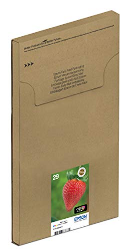 Epson Original T2986 Erdbeere, Claria Home Tinte, Text- und Fotodruck (Multipack, 4-farbig) (CYMK) - 3