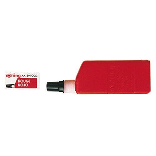 Rotring (S0216040) Isograph frasco de tinta de 23ml, rojo
