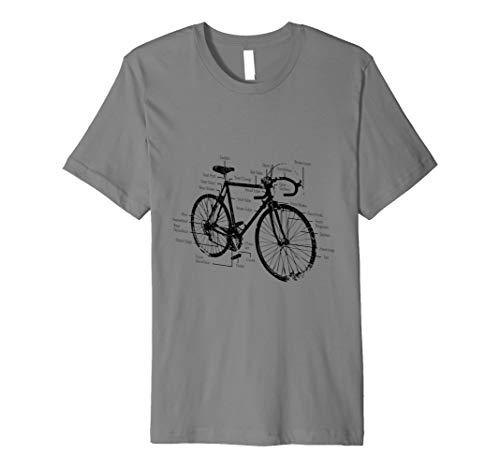 Vintage Racing Fahrrad T-Shirt -