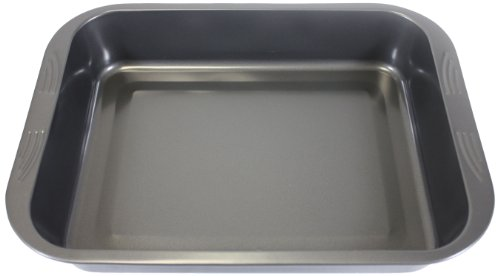 Everyday Baking Large Deep Roasting Tray, Carbon, Black, 37 x 28 x 6cm