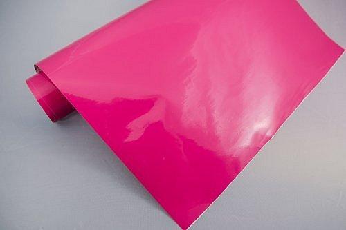 NEOXXIM - Plotterfolie Glanz 24 - pink - 30 x 106 cm -Plotter Folie Möbelfolie matt oder glanz viele Farben Größen wählbar