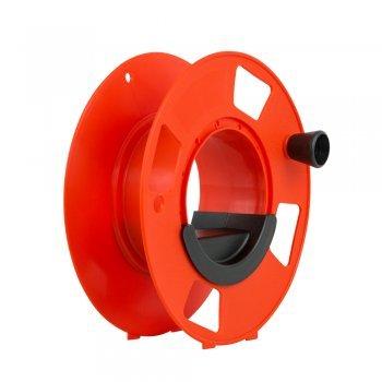 Megaspule - 28x12cm avec poignée coulissante, enrouleur de câble, enrouleur de tuyau, enrouleur de câble avec manivelle.