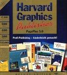 Harvard Graphics Publisher 5.0 PagePlus Deluxe. 2 CD- ROMs für Windows 95/ NT. Profi- Publishing - kinderleicht gemacht