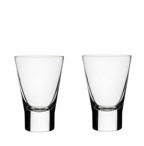 Iittala Aarne Schnapsglas, 2er Set, Shotglas, Likörglas, Schnaps, Likör, Glas, Klar, 50 ml, 1008500