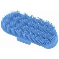 Nadelstriegel Kunststoff, azur blau, azurblau