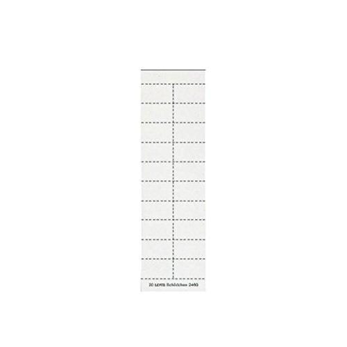 Leitz 24600001 Schildchen (blanko f2454/44) 200 Stück weiß