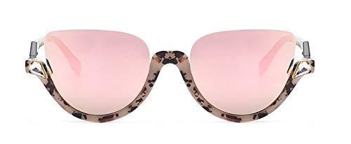GFF Diamonds Sonnenbrillen für Frauen Cat Eye Half Frame Brillen Fashion Ladies Eyewear UV-Schutz 45159