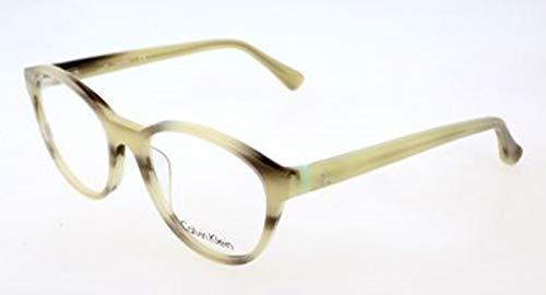 Calvin klein ck brillengestelle ck5881 418-51-18-135 montature, trasparente (grün), 51.0 donna