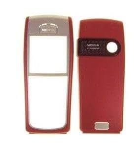 Nokia 6230/6230i avant et arrière, coque de protection rouge