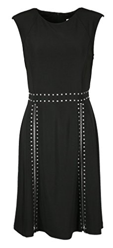 Joseph Ribkoff Sleeveless Studded Dress Style 183045 Size 14