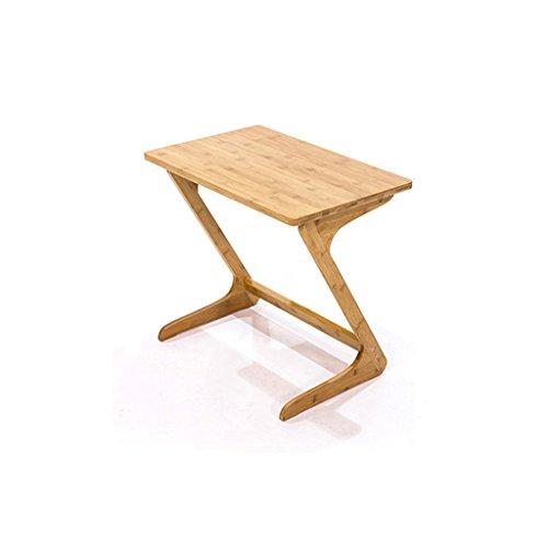 MEILING Algunos lados Color de madera Algunas esquinas Sofás Mesa Mesa de sofá tipo Z Cama de mesa Mesa auxiliar Pastoral Mesa de centro ( Tamaño : 55*35*60cm )