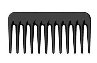 Peigne professionnel Grandes dents