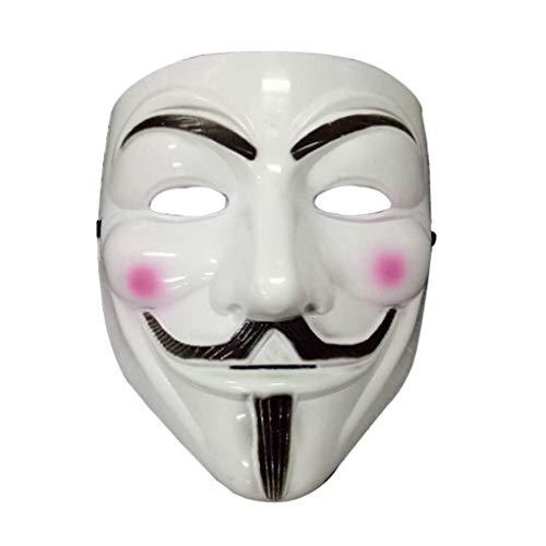 Adultos Traje De V De Vendetta Máscara De La Mascarilla Completa Anónimo De Guy Fawkes Mascarada Del Partido Accesorios Faciales