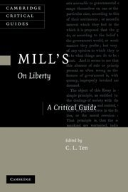 Mill's  On Liberty  Hardback: A Critical Guide (Cambridge Critical Guides)
