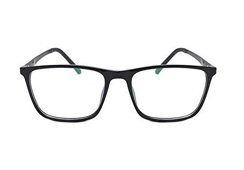 Keephen Gemütlich Anti-Blaulicht Gläser Anti-Strahlung hochwertigen Aluminium-Magnesium-Flachspiegel TR90 Brillengestell Männer und Frauen mit der gleichen Brille Rahmen