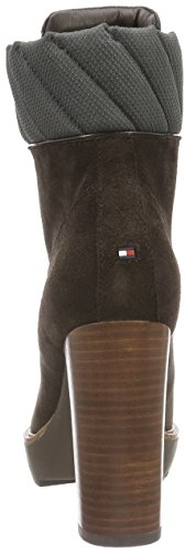 Tommy Hilfiger I1285leen 13c1, Bottes Classiques femme Marron - Braun (COFFEEBEAN 212)