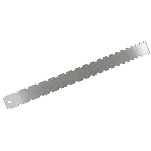 Sharplace Gitarre Bass Gekerbt Straight Edge Luthiers Werkzeug (Farbe Straight Edge)