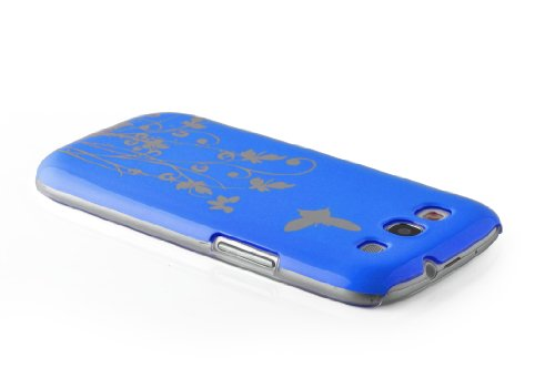 JAMMYLIZARD | Custodia Fiori e Farfalle Cover Sogno Fluttuante per iPhone 5 e 5s e iPhone SE, VERDE ACQUA AZZURRO