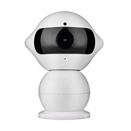 KING-DO-WAY-Telecamere-IP-di-WIFI-Mini-Macchina-Robot-Intelligente-del-Pupazzo-di-Neve-HD-di-Sorveglianza-1280-960p-13MP-al-Video-di-Sicurezza-Domestica-Domestico-del-Bambino-Tachigrafo