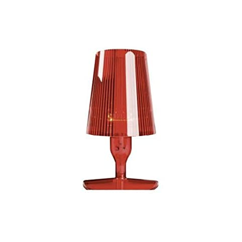 Kartell 9050Q3 Take Abat-Jour, Color Red: Amazon.co.uk: Lighting