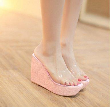 ZPPZZP Ms sandali pantofole a tacco alto 38EU
