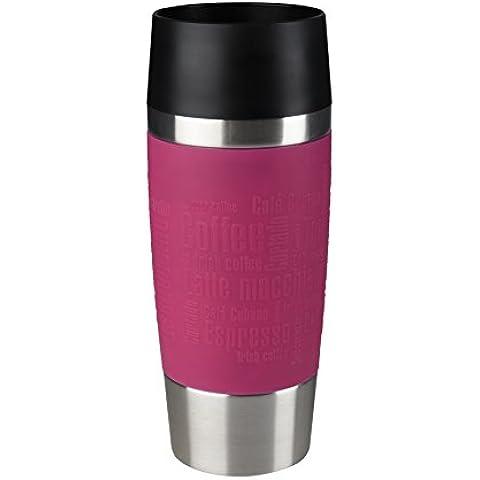 EMSA 358895 - Taza térmica, 360 ml, color rosa