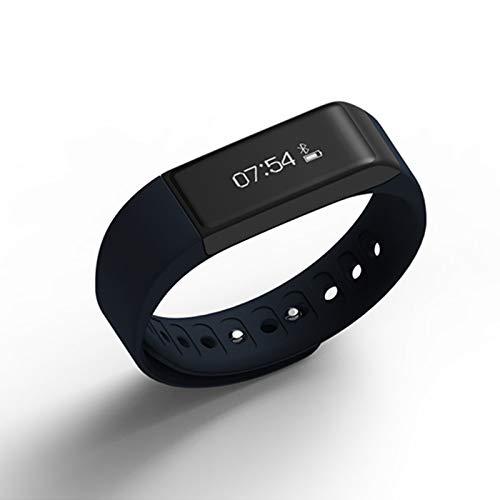 Leoie Iwown I5 Plus Armband, wasserdicht, Bluetooth, Smart-Fitness-Tracker, Sport-Armbanduhr für iOS