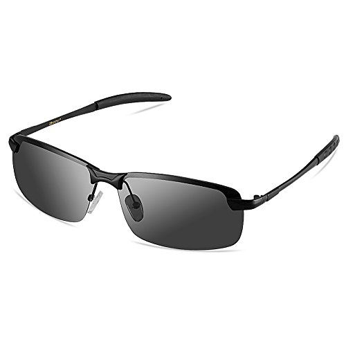 6c8504f8ea4714 Zheino 5909 Grey HD Day Vision Polarized Sunglasses UV400 Anti-glare  Driving Polarized Sunglasses