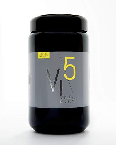 Puravitum VI5 - Vital Immun Naturpräparat: Unterstützt das Immunsystem, hochdosiert: Monatsration 180 Kapseln, vegan, made in Germany (Vera Aloe Mit Vitamin-e-kapseln)