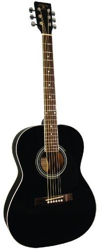 INDIANA Dakota IDA-BK Akustikgitarre, Schwarz