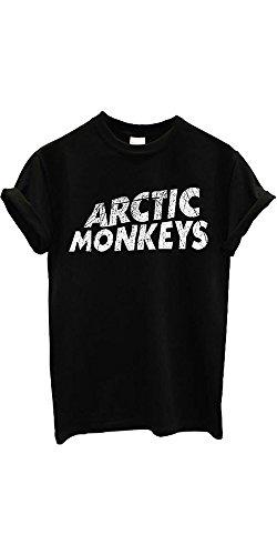 Arctic Monkeys T-shirt Rock Band New Men Women Unisex Top T (Disney Männer Sexy)