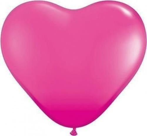 wild-berry-pink-11-qualatex-heart-shaped-latex-balloons-x-10