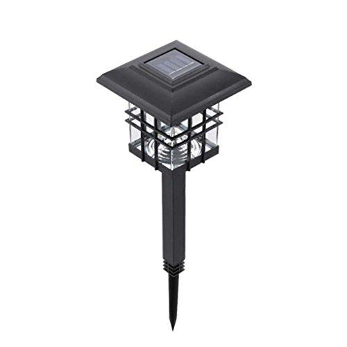 Landschaft Poller (Automatische Wasserdicht solarbetriebene LED-Garten-Yard Poller Säule Licht Rasen-Lampe im Freien Landschaft Licht Topker)