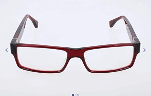 TAG Heuer Unisex-Erwachsene Th-502 Brillengestelle, Rot, 56