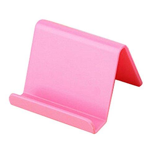 DIPOLA Handyhalter Candy Mini tragbare Feste Halterung Haushaltswaren Handy Fernbedienung Feste Halterung (Rosa)