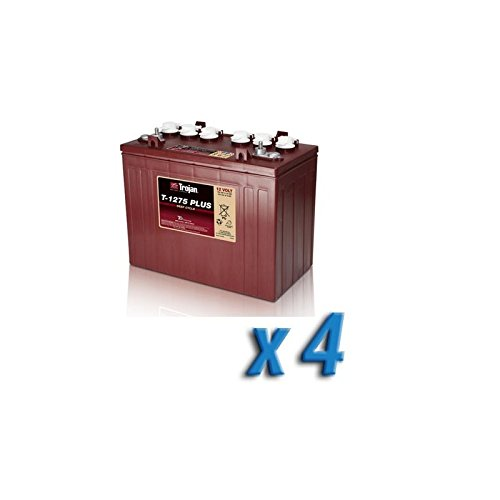 Akku 48V Photovoltaik-Accumulation T-1275 4 x 150 Ah Batterien 12V Trojan