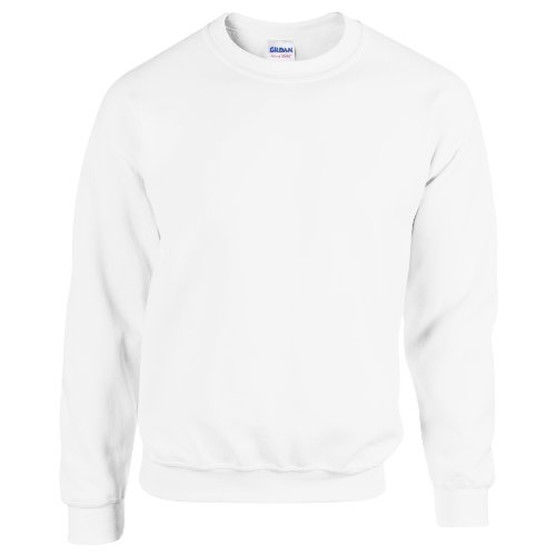 gildan-50-50-adult-crewneck-sweat-felpa-uomo-white-xxxx-large