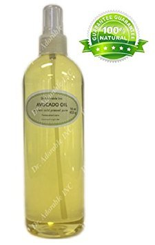 Avocado Oil Natural Skin Care Anti-aging and Skin Rejuvenating Properties Comes with a Sprayer 16 oz/1 pint