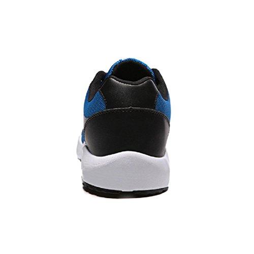 Herren Sportschuhe Ausbildung Turnschuhe Atmungsaktiv wasserdicht Laufschuhe Basketball Schuhe Blue