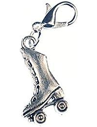 Patín bota colgante mendigando miniblings remolque smoothounds suite de plata