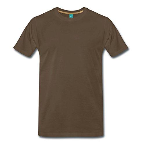 ügel Männer T-Shirt, 5XL, Edelbraun (Göttliche Engel Kostüm)
