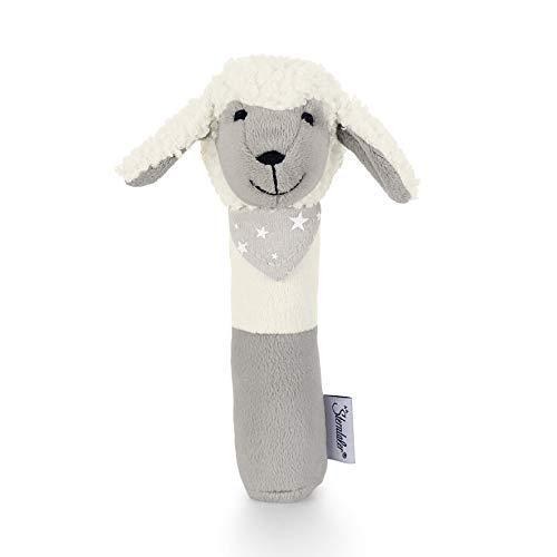 Sterntaler Greif-Quietsche Schaf Stanley, Alter: 0-36 Monate, Größe: 16 cm, Farbe: Weiß/Grau