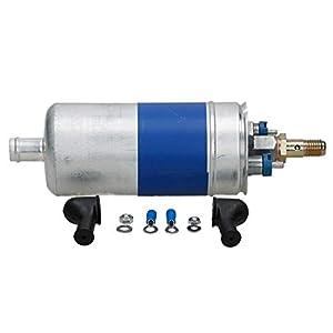 ECD Germany KP002 Kraftstoffpumpe Benzinpumpe 6,5 Bar Druck elektrisch 12V Spannung