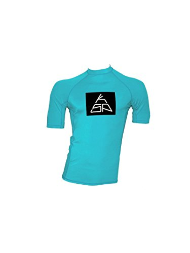 Maillot en Lycra manches courtes KSP LC 15S-M-L-XL Top Rashguard anti-UV pour kitesurf shirt Windsurf for Surf, XL